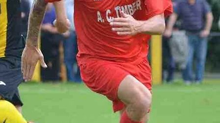 Ely City's Craig Neal bagged a brace in the Robins' 5-1 hammering of Halstead Town.