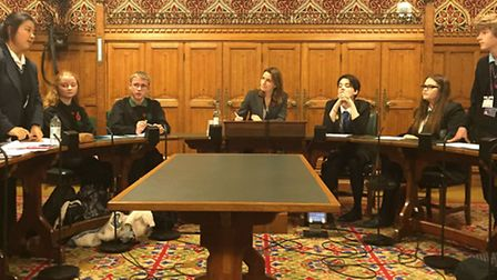 Final of Lucy's Parliamentary Debating Competition