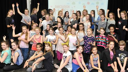 Students at Soham Village College raised money for this year's Children in Need by holding a Danceat