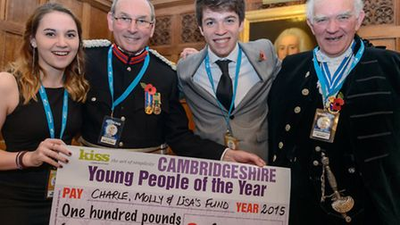 Molly and Charlie with High Sheriff and DL Charlie