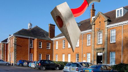 So where will axe fall within Fenland Hall?