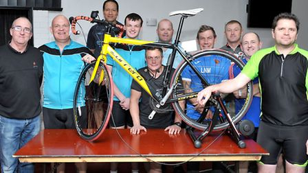 Chatteris Cycling Club launch at the Sportsman Fairway, Chatteris. Picture: Steve Williams.