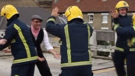 Black Watch Cambridge go viral with safety video