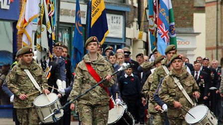 Wisbech Remembrance day