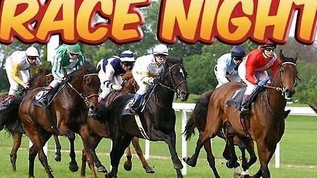 Race night in Wisbech at teh Rose and Crown