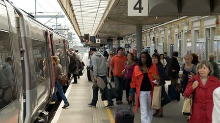 Passengers were evacuated from Cambridge rail station following a security alert this afternoon.