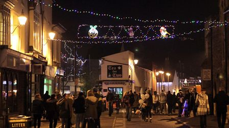 Ely Standard - 30th November 2012Ely Christmas Lights Switch On.Ryan Taylor introduces the entertain