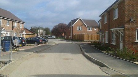 The Roddons development at Elliot Road in March.