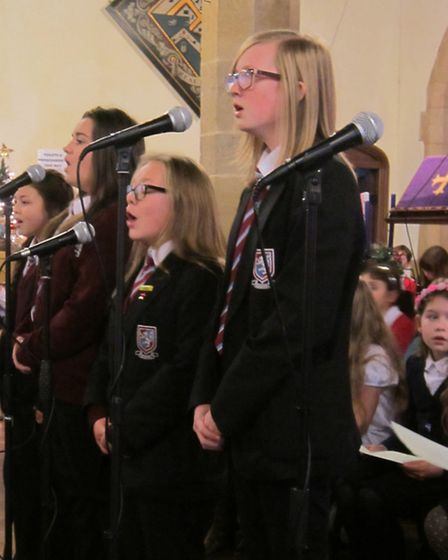 Christmas concert at St Peter's and St Paul's Church, Chatteris