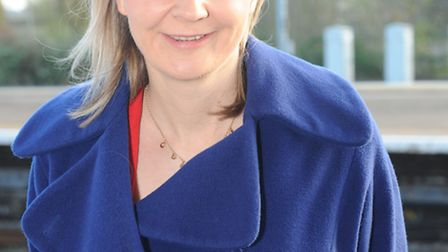 Upwell residents took their concerns over A1101 HGV use to MP Liz Truss
