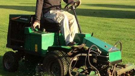 The lawnmower that has been stolen from Sutton Cricket Club