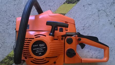 Residents are being warned not to buy fake machinery this Christmas after 26 unsafe petrol powered t