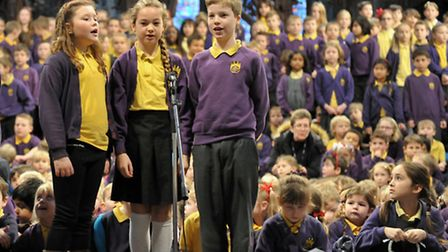 Lantern Primary School, Ely Cathedral Carol Service. Picture: Steve Williams.