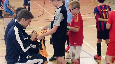 Win the opportunity to take part in Cambridge United's Christmas Soccer Schools.