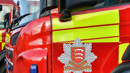 Fire crew were called to a car fire at Pondersbridge