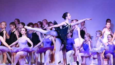 Over 200 dancers and 1,000 costumes were involved in Samara Ballet School's show on December 5 and 6