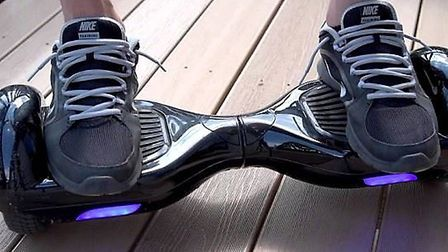 Police issue hoverboard warning