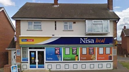 Nisa store in Victory Avenue, Whittlesey was smoke bombed