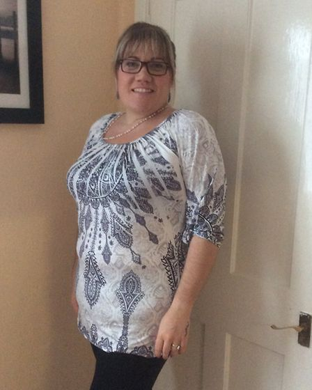 Sharon Cadman is six sizes smaller after weight loss plan