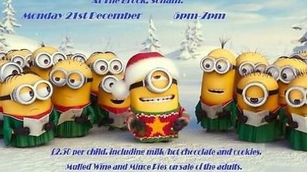 Bedtime Christmas stories at The Brook in Soham