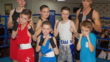 March ABC's fighters who stepped into the ring for their home show.