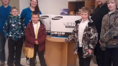 Stretham Youth Centre receives donation from Samsung Cambridge