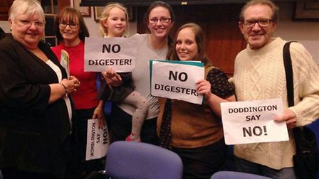 Residents rejoice as application is unanimously refused