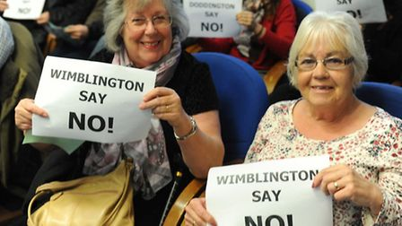 Photos from the special meeting of Fenland Council Planning Committee called to debate AD plant at W
