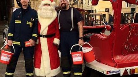 Thorney on-call crew raise over £1,000 for The Fire Fighters Charity