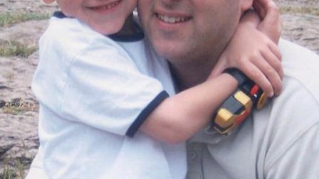 Jordan and Dean Hawes, who tragically died in December 2005.