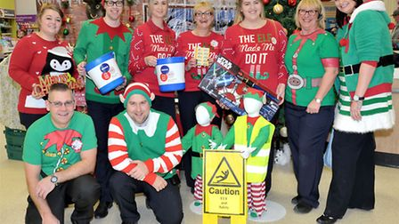 Elf weekend at Tesco Extra, Wisbech. Picture: Steve Williams.