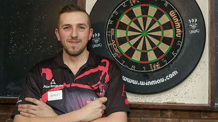 Darts star Ian Withers