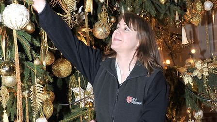 Ely Cathedral behind the scenes ahead of Christmas. Picture: Steve Williams.