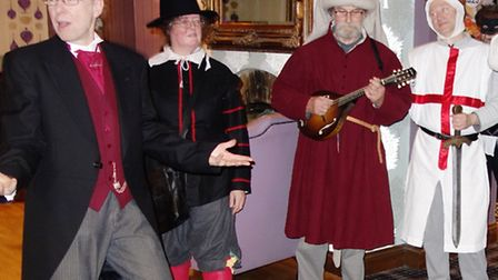 The March Mummers at Ye Olde Griffin
