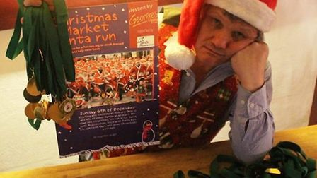 Publican Nigel Marsh was forced to relocate his first ever Santa Run amidst fears of overcrowding in