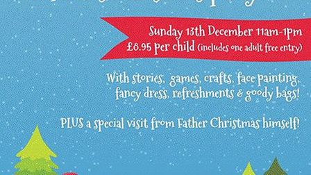Fabulously Festive Children's Christmas Disco Party at The Maltings