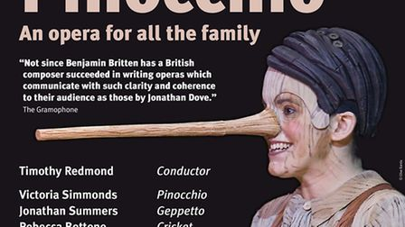 Cambridge Philharmonic to stage Pinocchio for EACH