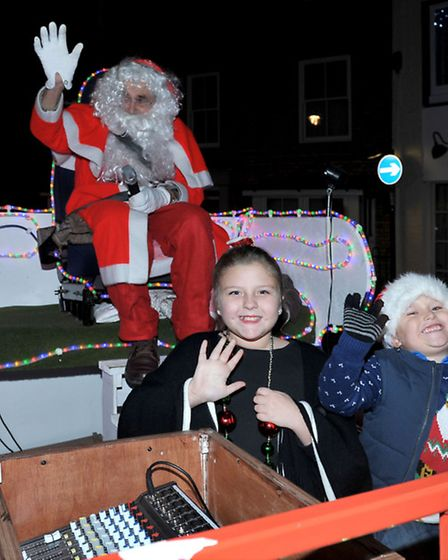 March Christmas Lights Switch On. Picture: Steve Williams.