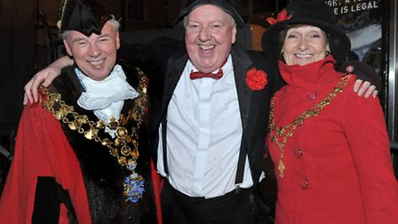 Wisbech Christmas Lights Switch On. Picture: Steve Williams.