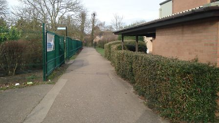 Soham footpath where swearing and loitering is to be banned 2