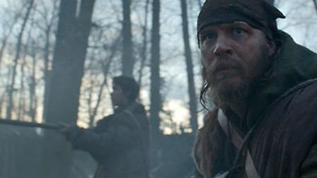 Tom Hardy as Fitzgerald in The Revenant