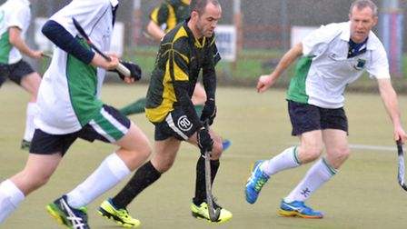 Ely City Mens 1st Hockey v Louth. Picture: Helen Drake
