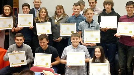 March Lions .Young Leaders in Service awards