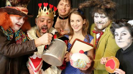 Alice in Wonderland will be performed by Witchford Amateur Dramatics Society