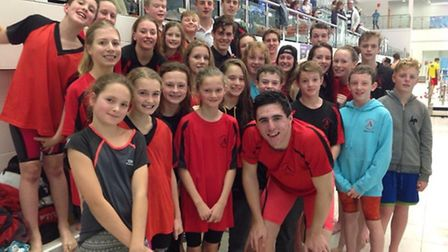 Dunmow Atlantis Swimming Club win first round of Essex Swimming League