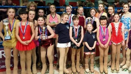 Ely Rollerskating Club took a team of 26 skaters to Great Yarmouth last month for the last competiti