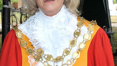 Mayor of Ely Liz Every. Picture: Steve Williams.