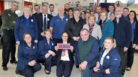 Tesco community champion Kelly Riddell who has raised more than £15,000 since starting in Mrch 2015.