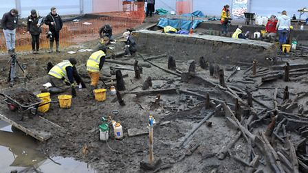 Archaeologists have revealed 3,000 year old circular wooden houses believed to be the best–preserved