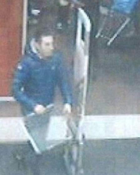 CCTV images issued by police in connection with theft from Tesco at Ely